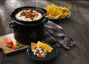 Queso Blanco & White Bean Slow Cooker Dip