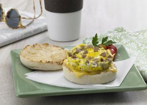 Image of Sausage Scramble Sandwich