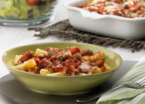 Image of Sausage and Basil Baked Ziti