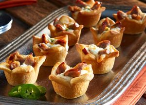 Sausage Jalapeno Popper Cups
