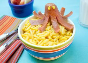 Sausage Octopus Mac & Cheese