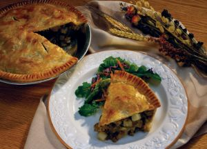 Image of Sausage & Potato Pie