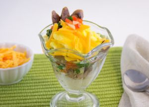 Image of Savory Sausage Breakfast Parfait