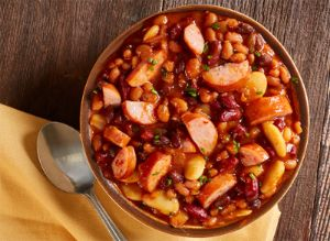 Image of Sausage Baked Beans