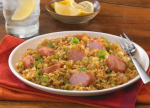 Image of Smoked Sausage Cajun Dirty Brown Rice