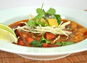 Image of Smoked Sausage Pozole