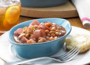 Image of Southern Style Sausage Baked Beans