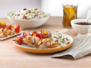Image of Sweet BBQ Chicken Kabobs
