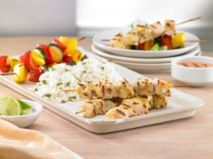 Image of Sweet Chili Lime Chicken Kabobs