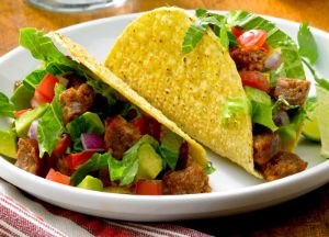 Image of Tasty Sausage Taco -- Sizzling Sausage Grill Recipe
