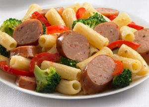 Image of Johnsonville Smoked Chicken Italian Sausage and Broccoli Rigatoni