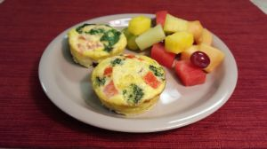Image of Turkey Sausage Quiche Cups