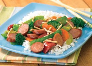 Image of Turkey Sausage Stir-Fry