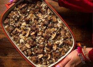 Image of Wild Rice, Sausage and Sage Stuffing
