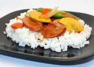 Image of Zesty Sausage Stir-Fry