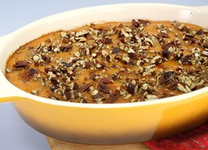 Image of Zesty Sweet Potato Casserole with Andouille Sausage