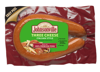 Three Cheese Italian Style<br/>Rope Sausage