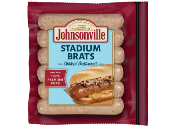 Stadium Style Cooked<br/>Brat Links