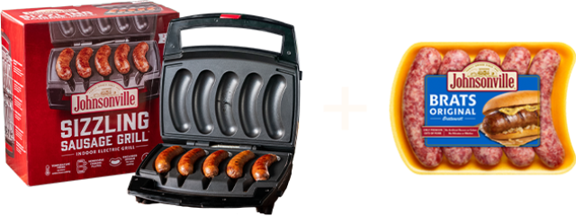 Play for a chance to win a Sizzling Sausage Grill and sausage for a year!