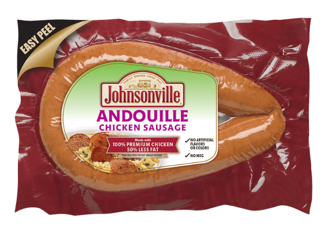 Andouille Chicken  Rope Sausage