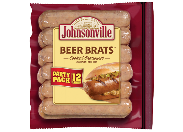 Beer Brats Links (Party Pack)