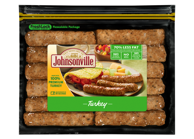 Turkey Fully Cooked  Breakfast Sausage