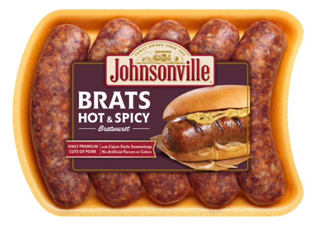 Hot 'n Spicy Brats