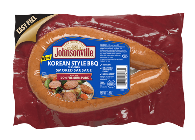 Korean Style BBQ Smoked Rope Sausage