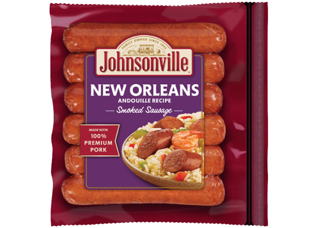 New Orleans Spicy Smoked  Sausage Links