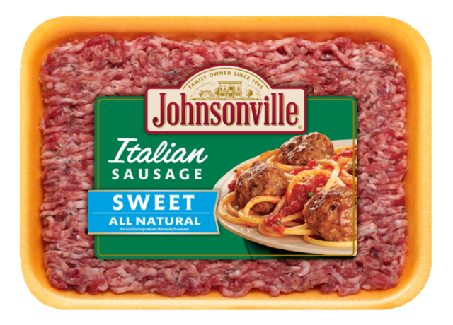 All Natural Fresh Italian Sweet Ground Sausage Johnsonville Com