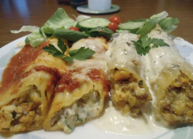 Image of A Match Made In Heaven Manicotti