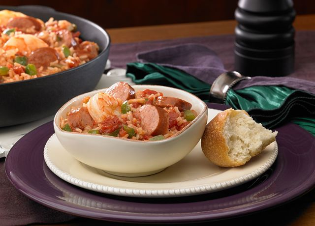 Image of Andouille Sausage and Shrimp Jambalaya