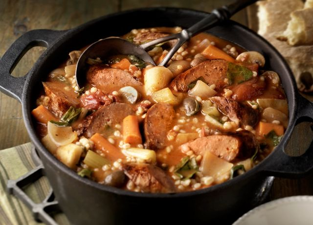 Image of Braised Italian Sausage Stew