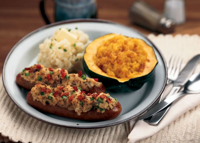 Image of Italian Sausage with Rosemary & Mushroom Stuffing