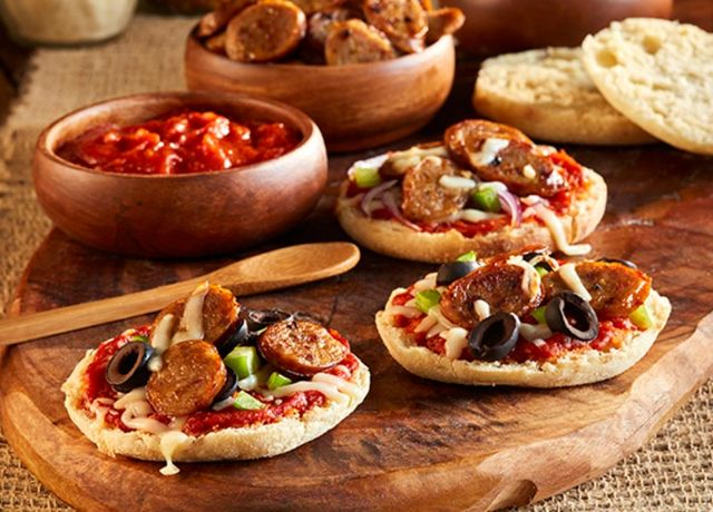 Image of English Muffin Personal Pizza