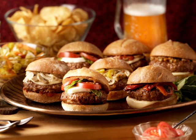 Image of Italian Sausage Sliders