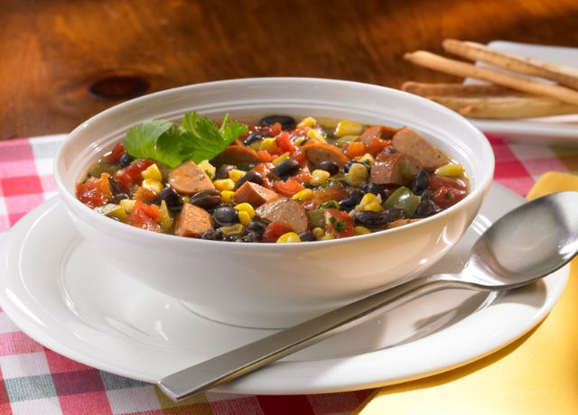 Image of Johnsonville® Cajun Style Chicken Sausage Soup