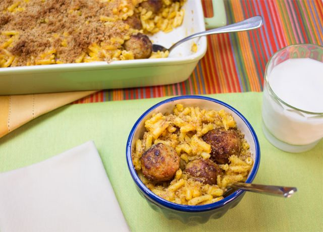 Image of Johnsonville® Easy Mac & Cheese with Meatballs