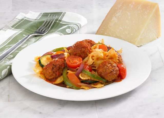 Image of Johnsonville® Harvest Vegetable Pasta with Meatballs