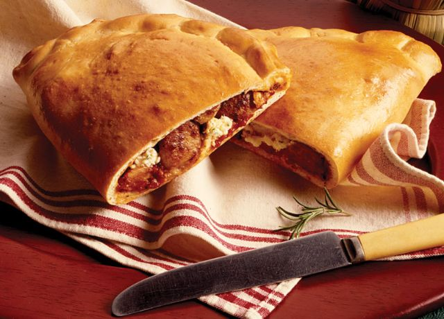 Image of Party-Size Sausage Calzone