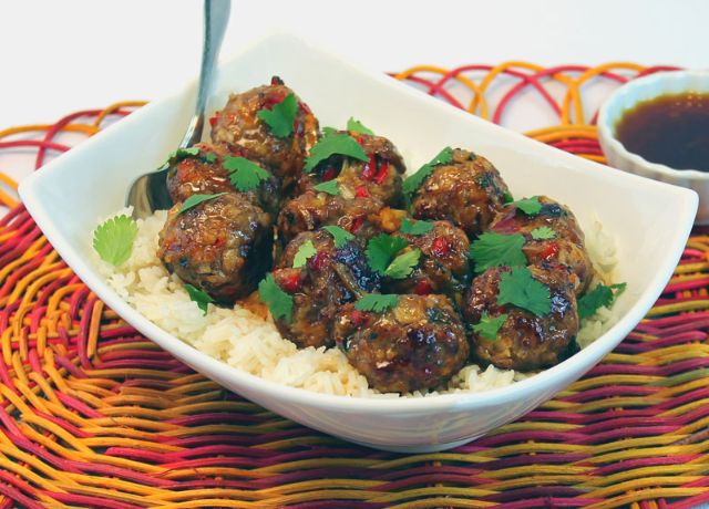 Image of Pineapple Ginger Meatballs