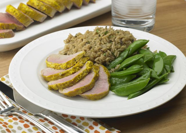 Image of Pork Tenderloin with a Kick!