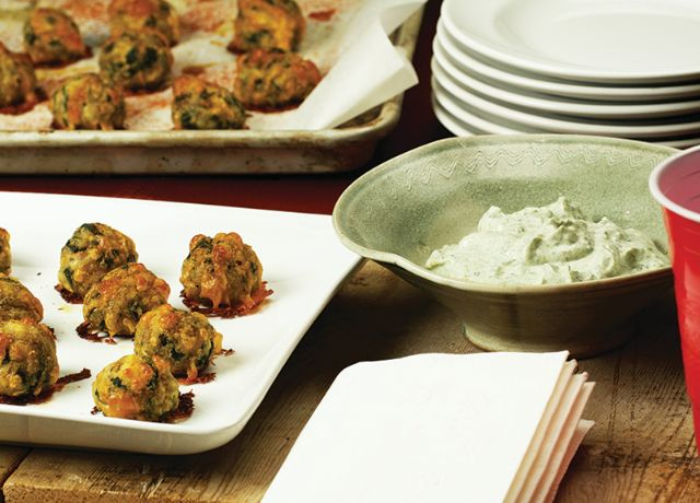 Image of Reverse-Spinach Dip Sausage Balls