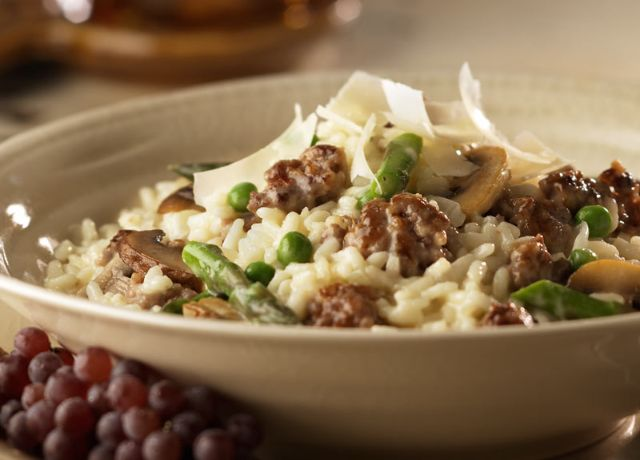 Image of Sausage & Vegetable Risotto