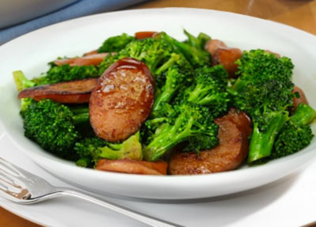 Image of Sausage Broccoli Stir-Fry