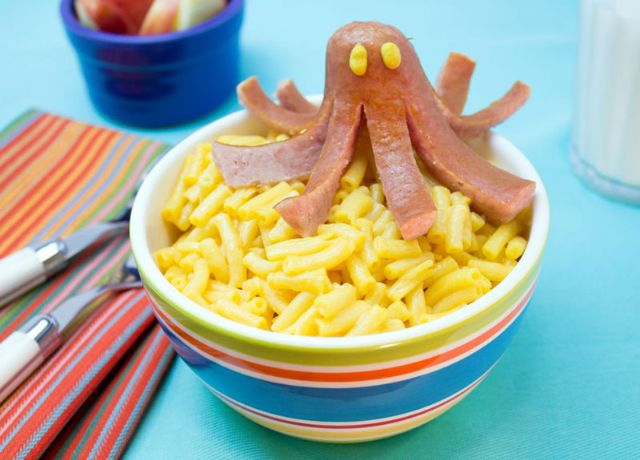 Image of Sausage Octopus Mac & Cheese