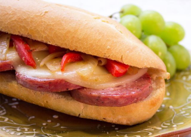 Image of Summer Sausage Hot Hoagies