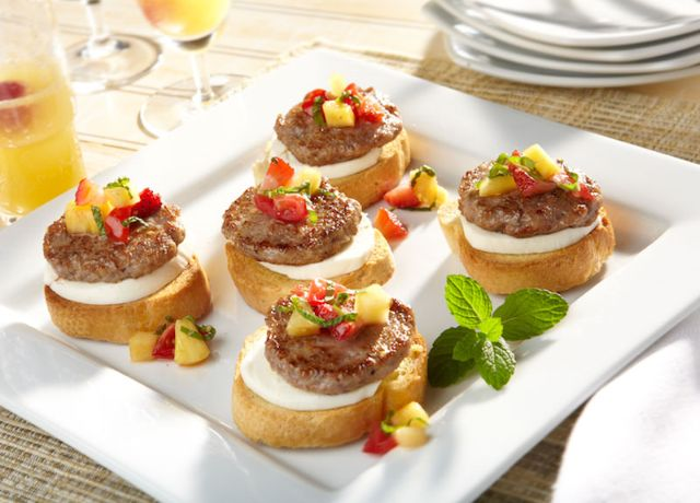 Image of Sweet and Savory Bruschetta
