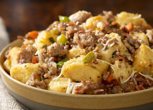 Image of Traditional Italian Sausage Stuffing
