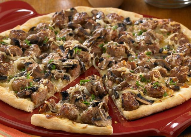 Image of Tuscan Sausage Pizza